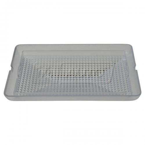 89-01 Mercury; 89-11 Ford Multifit Overhead Console Mounted Clear Plastic Dome Light Lens Cover (FD)