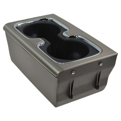 14-15 Silverado, Sierra 1500 Center Console Mounted Burnish w/Chrome Trim Dual Cup Holder (GM)