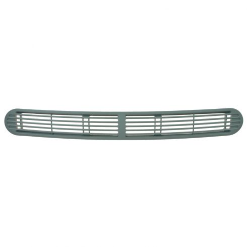 98-05 GM Mid Size SUV; 98-04 GM Mid Size PU Front Center Dash Pewter Defroster Grille (GM)