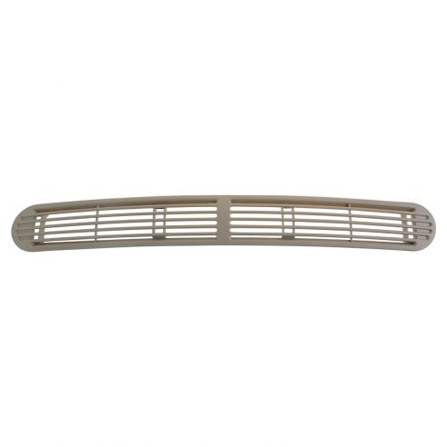 98-04 S10, Sonoma, S15;  98-05 GM Mid Size SUV Upper Dash Mtd Beige Defrost Vent Grille Cover (GM)