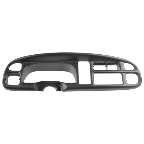99-01 Dodge Ram 1500; 99-02 Ram 2500, 3500 Black Dash Bezel Instrument Surround (Mopar)
