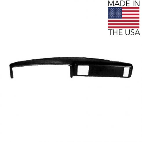 1973-77 Chevy El Camino GMC Sprint Dash Cover Blk