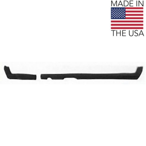 1968 Valiant Dart Barracuda 2 pc Lower Molded Dash Pad Cover