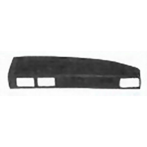 1984-86 Toyota Truck (right side) Molded Dash Pad Cover