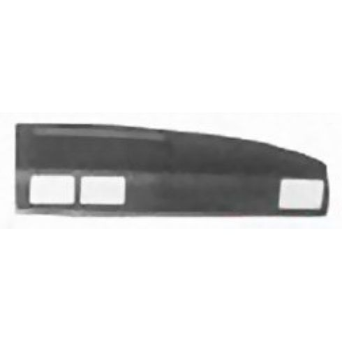 1987-88 Toyota Truck 4Runner Molded Dash Pad Cover