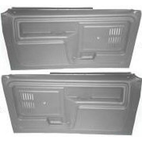 1980-86 Ford Truck Door Molded Plastic Door Panels
