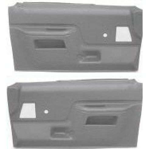 1987-91 Ford Truck Door Molded Plastic Door Panels