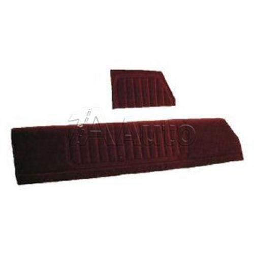 1978-87 Monte Carlo Malibu Cutlass Regal Grand Prix 2 Door Upper Door Panel Set with Vertical Pleats Covered in Encore Velour