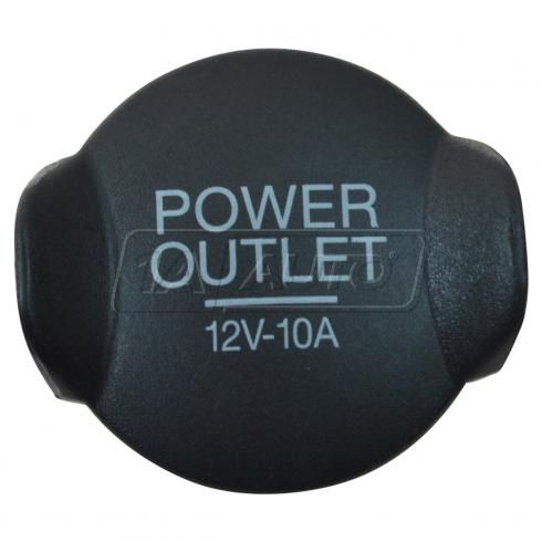 05-14 Mustang; 03-06 Expedition; 05-07 Escape; 00-14 Focus Power Outlet Plastic Cover Plug (Ford)