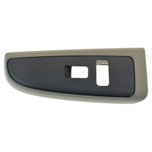 04-07 Silverado, Sierra Classic; 04-06 FS SUV Front Door Panel Mnted Window Switch Tan Bezel RF (GM)