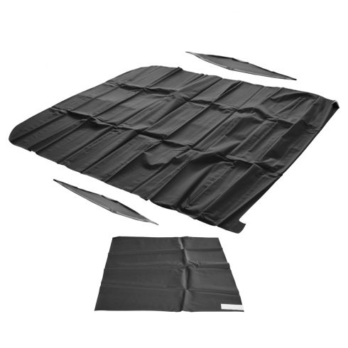 66-67 NOVA 2DR Hard Top  HEADLINER TIER PATTERN BLACK