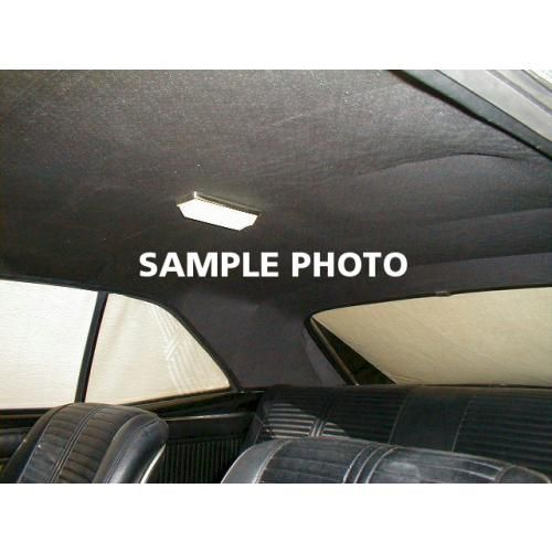 1965 Chevy Impala Caprice 4 Door Hardtop Headliner and Visor Set in Recessed Star Material
