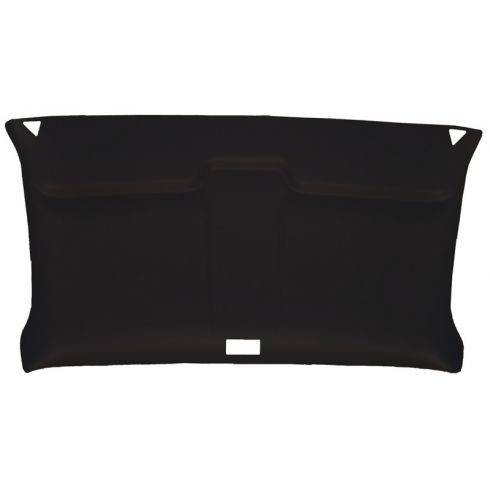 73-87 Chevy,GMC Pickup Regular Cab w/o Hdlnr Foamback Cloth Black ABS Headliner