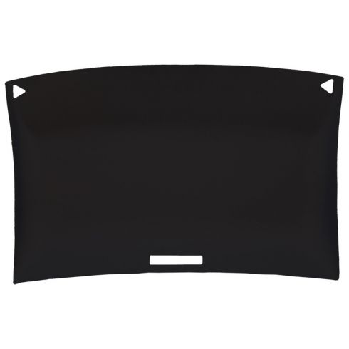 78-87 Chevy El Camino, GMC Caballero Foamback Cloth Black ABS Headliner