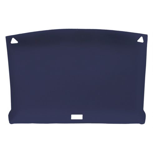 82-93 Chevy S10, GMC S15 Sonoma Reg Cab Foamback Cloth Navy Blue ABS Headliner