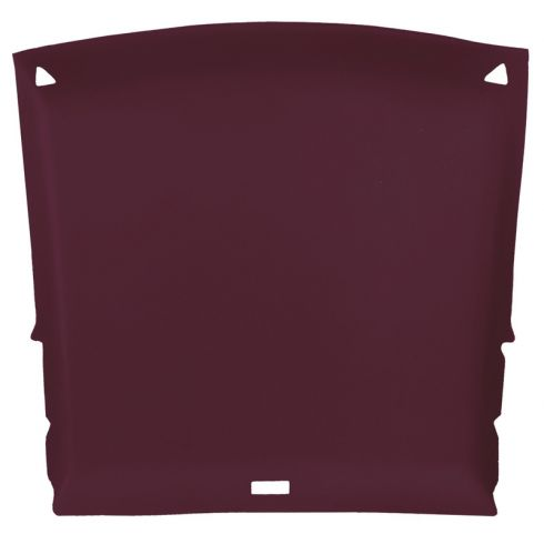 82-93 Chevy S10, GMC S15 Sonoma Extended Cab Foamback Cloth Garnet ABS Headliner