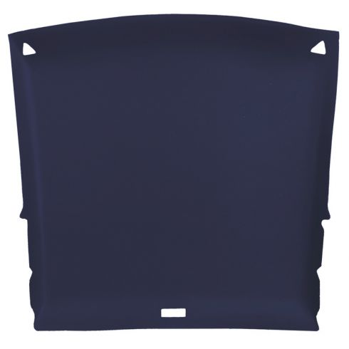 82-93 Chevy S10, GMC S15 Sonoma Ext Cab Foamback Cloth Navy Blue ABS Headliner