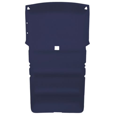83-93 Chevy S10 Blazer, S15 Jimmy Foamback Cloth Navy Blue ABS Headliner