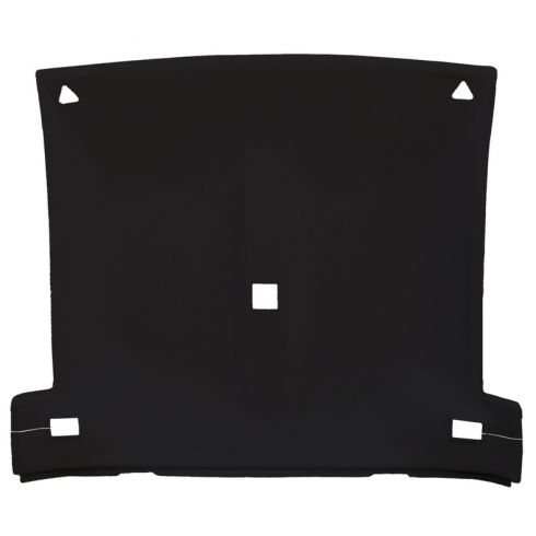 82-92 Chevy Camaro,Pontiac Firebird Foamback Cloth Black Solid Top ABS Headliner