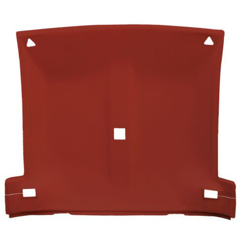 82-92 Chevy Camaro, Pontiac Firebird Foamback Cloth Carmine Solid Top Headliner