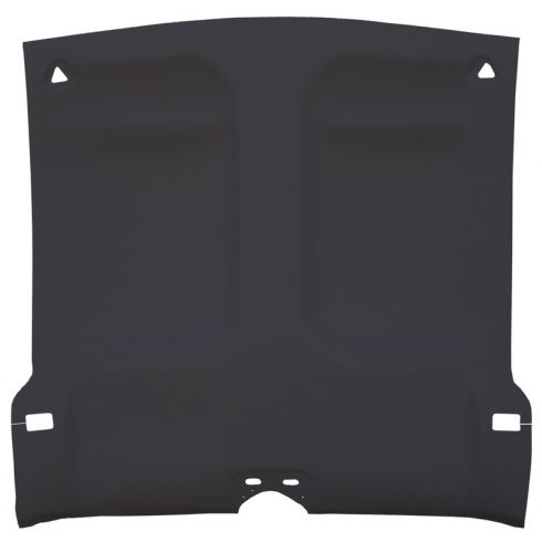 93-02 Chevy Camaro,Pont Firebird Foamback Cloth Graphite Solid Top ABS Headliner