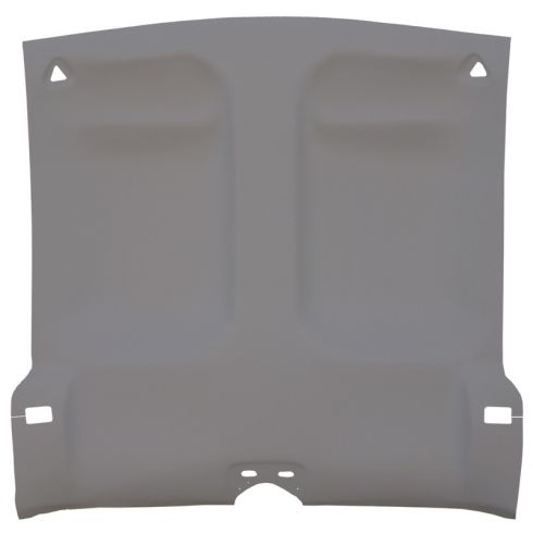 93-02 Chevy Camaro,Pont Firebird Foamback Cloth Med Gray Solid Top ABS Headliner