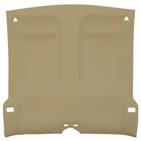 93-02 Chevy Camaro,Pnt Firebird Foamback Cloth Nat Beige Solid Top ABS Headliner