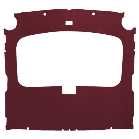 79-88 Ford Mustang Hatchback Cloth Ruby Factory Sunroof ABS Headliner