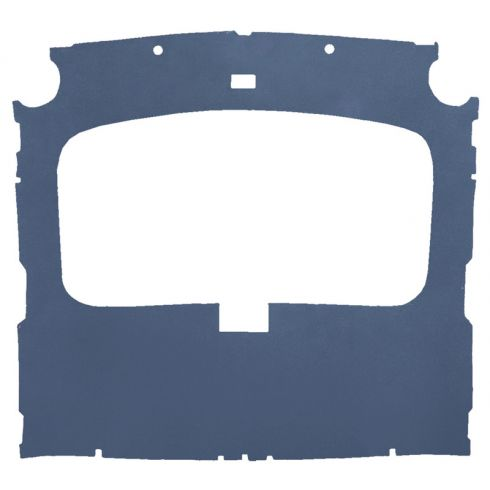 79-88 Ford Mustang Hatchback Cloth Lapis Blue Factory Sunroof ABS Headliner