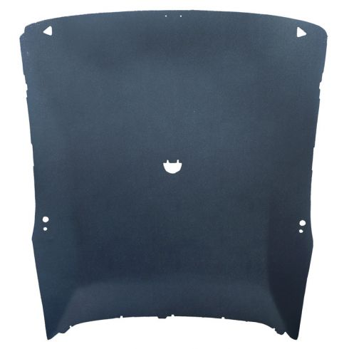 73-75 Dodge Dart, Plymouth Scamp,Valiant 2 Dr Hardtop Tier Vinyl Black Headliner