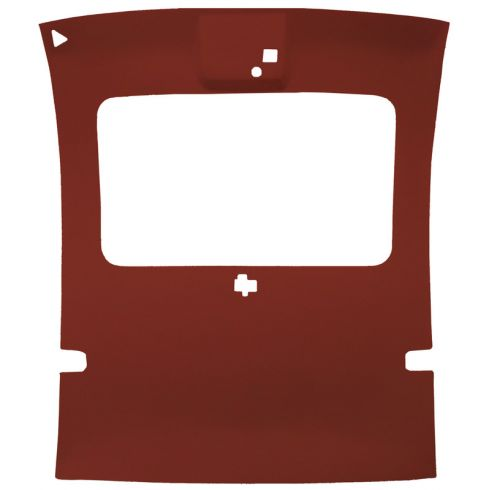 78-88 Regal,Monte Carlo,Cutlass,Grand Prix 2 Dr Cloth Carmine Sunroof Headliner
