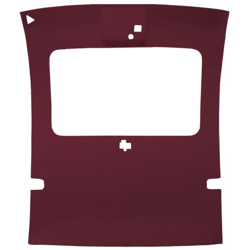 78-88 Regal,Monte Carlo,Cutlass,Grand Prix 2 Door Cloth Garnet Sunroof Headliner