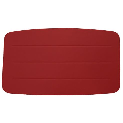 55-58 Chevy Pickup Regular Cab Madrid Vinyl Red ABS Headliner