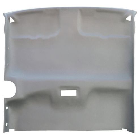 96-98 Chevy, GMC C/K 1500 ExtCab 3 Door w/o Overhead Console Uncovered Headliner
