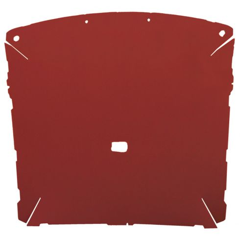 87-96 Ford F150, F250 Pickup Extended Cab Foamback Cloth Red/Scarlet ABS Headliner