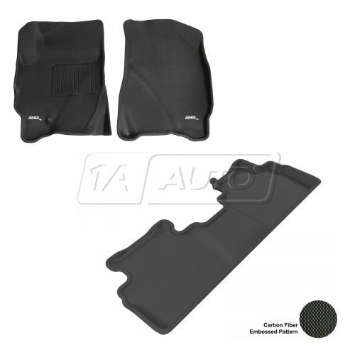 09-12 Escape/Tribute/Mariner Black Front & Rear Floor Liner Set
