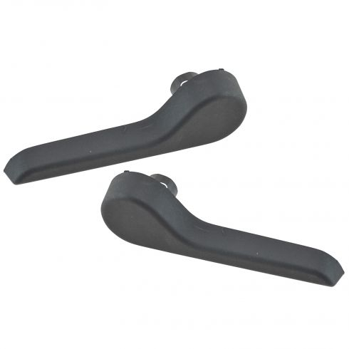 07-14 Escalade ESV, Sub, Yukon XL; 07-13 Avlnche, Esclade EXT Frt Seat Ebony Recliner Handle Pair