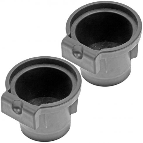 05-14 Nissan Frontier; 05-15 Xterra; 05-12 Pathfinder Front Console Mtd Cup Holder Insert Pair
