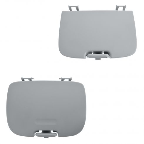 02-05 Ford F250-F550 (w/o Sunroof) Overhead Console Flint Sunglass Holder/Garage Door Cover (Ford)