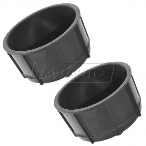 04-11 F150 NB; 03-06 Expdtn, Nvigtr; 06 Mark LT Frt Cnsole Mtd Rear Cup Holder Insert Pair (Ford)