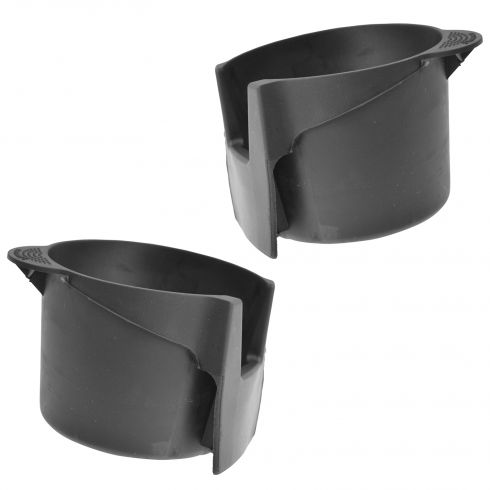 02-08 Focus (w/o Ambient Light) Console Mtd Cup Holder Rubber Insert PAIR (Ford)