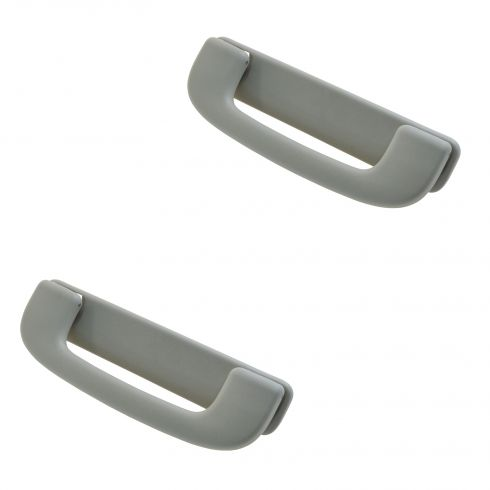 04-12 Chevy Colorado, GMC Canyon Interior Roof Mounted Light Gray Grab Handle PAIR (GM)