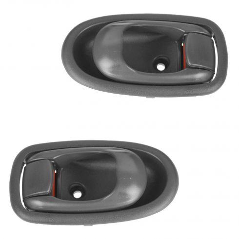 02-04 Kia Spectra  Front or Rear Inner Gray Door Handle Pair (Kia)