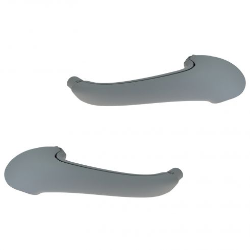 OEM Front  Door Gray Inside Pull Handle Pair for Mercedes Benz C230 C280 C350 C55