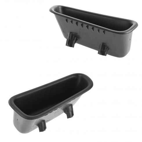 94-01 Dodge Ram 1500, 94-02 2500, 3500 (6 Inch) Front Door Pull Handle/Cup Holder Pair (Mopar)