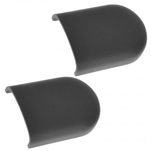 07-10 Jeep Wrangler Dashboard Mounted Grab Handle Slate Gray End Plug Cover Pair(Mopar)