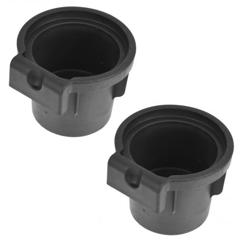 05-14 Nissan Frontier; 05-15 Xterra; 05-12 Pathfinder Front Console Cup Holder Insert Pair (Nissan)
