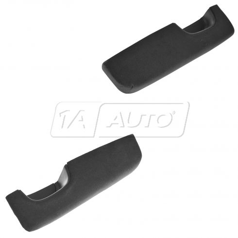 07-10 Nissan Altima Front Door Black Suede Inside Pull Handle/Armrest Pair (Nissan)