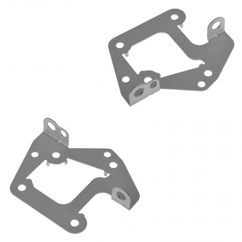 89-94 Toyota Pickup; 90-02 4Runner; 95-04 Tacoma Factory Stereo Radio Mounting Bracket Pair (Toyota)