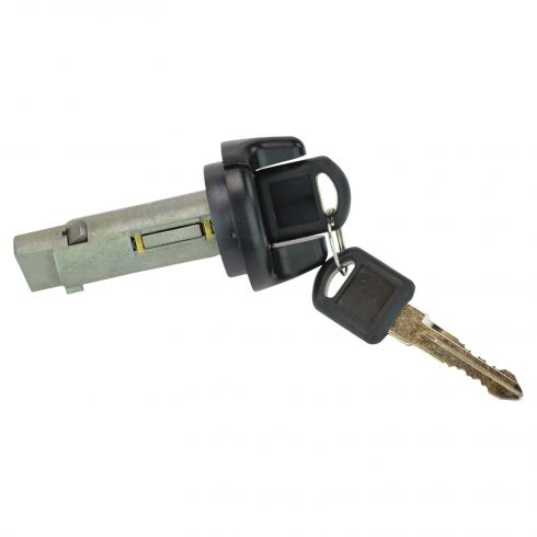 1995-99 GM Mulitfit Ignition Lock Cylinder w/Key & Black Finish